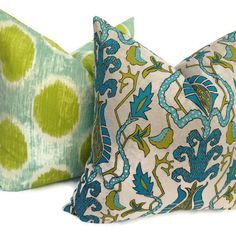 teal and chartreuse fabric - Google Search