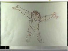 The Hunchback of Notre Dame (1996) Quasimodo Pencil Test by James Baxter - YouTube