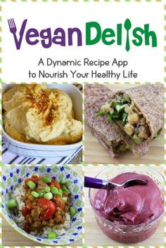 Download the Vegan Delish recipe app for your iPhone
