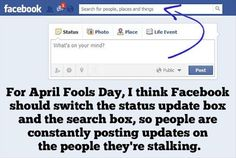 That would be the worst thing ever! Not even funny haha Thats The Way, That Way, Doug Funnie, Haha, April Fools Day, It Goes On, I Love To Laugh, For Facebook, Funny Facebook