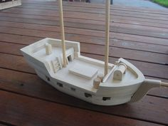 Another idea for ship models...like the details and it is still simple...could…