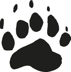 bearcat paw clip art bear paw tracks free cliparts that you can rh pinterest com bear paw clipart black and white bear paw print clipart