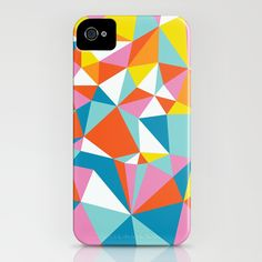 Neon Facets iPhone Case ($35)