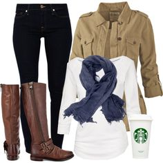 """First day of Fall"" by felicia-alexandra on Polyvore"