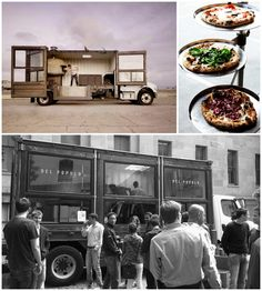 Del Popolo Pizza Truck, San Francisco #food #advertising #street