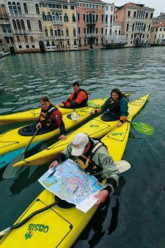 Paddeln in der Lagune von Venedig   Globetrotter Magazin - Das Portal für Globetrotter