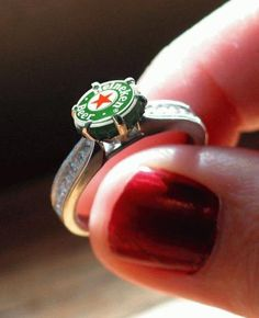 Biere Par Heineken Heineken Beer Ads That Make Time Stop Alfa Romeo Logo, Alfa Romeo Cars, Alfa Cars, Cool Wedding Rings, Cheers, Beer Lovers, Jewelry Rings, Jewellery, Engagement Rings