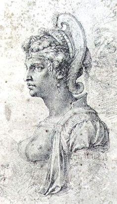By Michelangelo - The syrian Queen Zenobia
