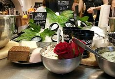 Eleven Oh Seven: Lush Cosmetics: Summer Collection & New Products. Beauty, fresh face masks
