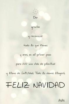 Navidad, dar gracias y reconocer todo lo que tienes. __Merry Christmas