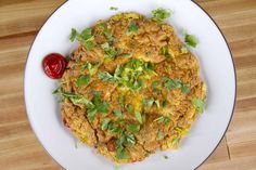 Thai Omelet with Pork