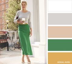 10Clásicas combinaciones decolores para crear unlook perfecto con turopa