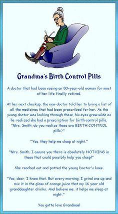 I love this!  A very smart Grandma!