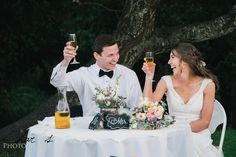 California Wedding Photographed by Charles Le Photography - Toast/Cheers!