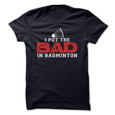 Awesome Badminton Lovers Tee Shirts Gift for you or your family member and your friend:  Badminton Tee Tee Shirts T-Shirts
