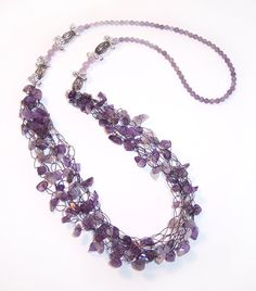 Learn How to Make Multistrand Jewelry Projects - Multistrand Necklaces, Multistrand Bracelets   AllFreeJewelryMaking.com