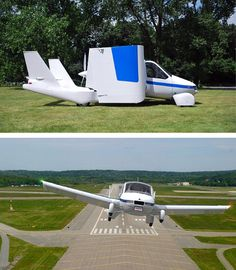 Flying cars are one step closer to coming to a road near you after a US company successfully completed an eight-minute test flight of its Transition car-plane.
