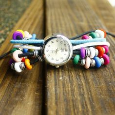 Find More Women's Wristwatches Information about Free shipping wholesale dropship 2013 Hot sale Russia Colourful Bead stainless watches women fashion,High Quality fashion watch women,China fashion time watches Suppliers, Cheap fashion watch straps from Ala Dance Online Store on Aliexpress.com