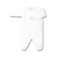 Baby Boum Pyjama 0-3m Velvet Ecru [0_3M]