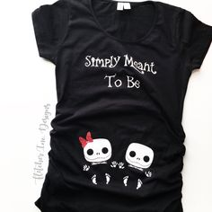 69a604282ffa7 Excited to share this item from my shop: Adorable Twin Belly Top Nightmare  Before Christmas Baby Jack Inspired Top.