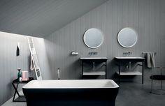 <p>Dessinée en 20009 par Benedini Associati, la gamme Novecento s'agrandit avec une version XL de la vasque en Ceramilux blanc, au choix mat ou brillant qui offre une belle surface sur...
