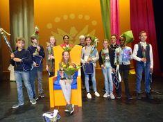 De drie provinciale voorleeskampioenen van Utrecht - BiSC Utrecht