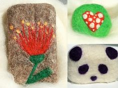 I'm wanting to learn how to needle felt onto my soaps. Good tutorial :)