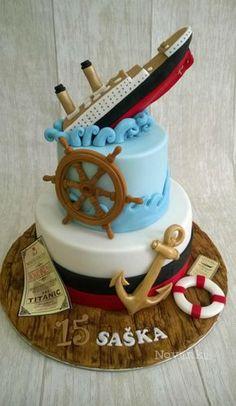 Titanic By Novanka Cake Boys Cupcakes Camera Cakes Photos 8th
