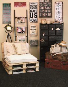 Palettenmöbel selber bauen sessel magazin regale reisethema