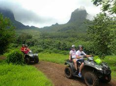 Atv tour in Moorea, French Polynesia