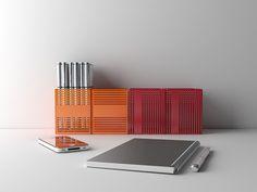 RIGO, Penholder by Marco Gottardi Digital Fabrication, Desk Accessories, Decoration, Minimalism, Colours, Design, Desktop Accessories, Decor, Dekoration