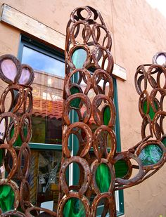 horseshoe cactus sculpture by sarahlavendersmith, via Flickr