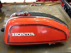 1974 75 76 Honda CB 200 CB200T Gas Fuel Tank Cafe Racer | eBay