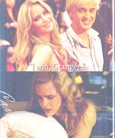 hahaha this is for my husband. My Tom Felton and his Jennifer Lawrence.