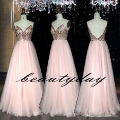 5bf32719a2f0 Sexy Pink Prom Dresses Ball Gown Lace Top Backless Real Image Evening Gowns  Black Girl Couple Day 2K19 Plus Size Vestidos De Festa Prom Dress Websites  Uk ...