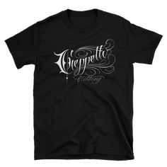 This makes for a great staple t-shirt. And the double stitching on the neckline and sleeves add more durability to what is sure to be a favorite! Script, Chicago, Tees, Sleeves, Mens Tops, T Shirt, Supreme T Shirt, Script Typeface, T Shirts