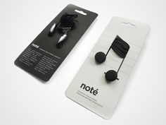 Clever packaging - earbuds
