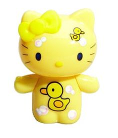 Rubber duck Hello Kitty