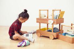 Koloro Wagon - stackable mobile toy storage