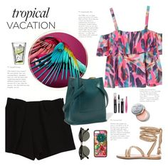 """""""Welcome to Paradise: Tropical Vacation"""" by little-curly-juli ❤ liked on Polyvore featuring MANGO, Chloé, Jil Sander, Dolce&Gabbana, Tweezerman, Bobbi Brown Cosmetics, Ray-Ban, Bodum and TropicalVacation"""