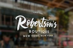 Boutique Script + PSD Styles by MakeMediaCo. on @creativemarket