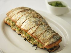 One of our exclusive recipes from Lesley Waters for Grow It, Cook It, Share It - Roasted Salmon and Courgettes #GrowCookShare
