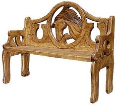 The perfect combination of beauty and utility, this stunning horse and colt bench will add richness and class to any seating area. Hand carved by highly skilled artisans in central Mexico, these benches are heirloom-quality, to be passed down from one generation to the next. So summon the interior designer from within, and create a fabulous new space in your home with this striking horse bench as the centerpiece.