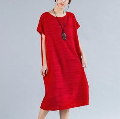 Basic Knit T-Shirt Dress