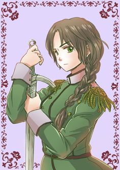 Day #8 Character you look like the most... Idk, but a couple friends said that I look like Nyo! Lithuania...