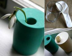 Un florero rapido, sencillo y bonito
