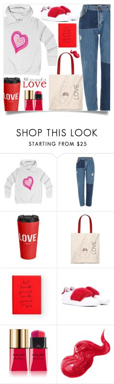 """""""All you need is love! (36)"""" by samra-bv ❤ liked on Polyvore featuring River Island, Givenchy, Yves Saint Laurent, Bobbi Brown Cosmetics and Brewster Home Fashions"""