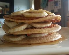 Syn Free Pancakes! Made these today and they were yum!!! I used organic honey rather than sweeter and vanilla, making this 1 syn per batch.