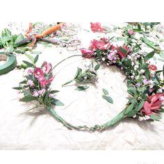 Nuestra corona de flores naturales para