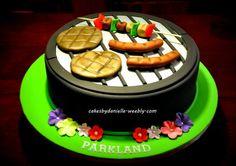 BBQ  Cake by CBD
